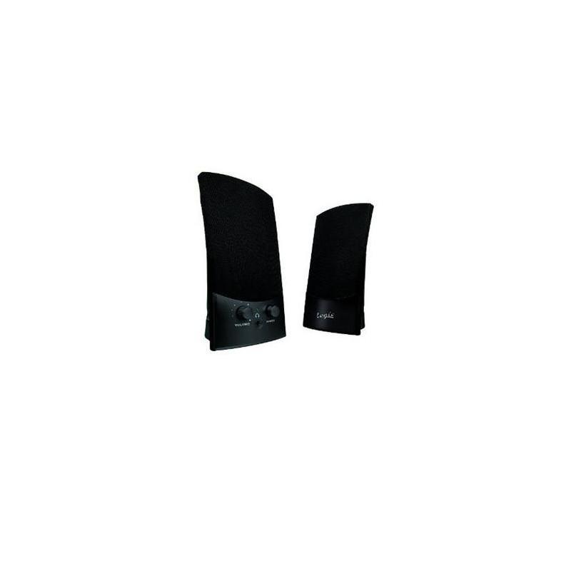 Reproduktory Modecom LS-10 2.0 , USB napájanie, 2x1W, black (čierne)