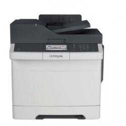 Lexmark CX410de, color laser MFP, 4800,30/30ppm,512MB, 800MHz, USB, Duplex, GLan, Fax 28D0562