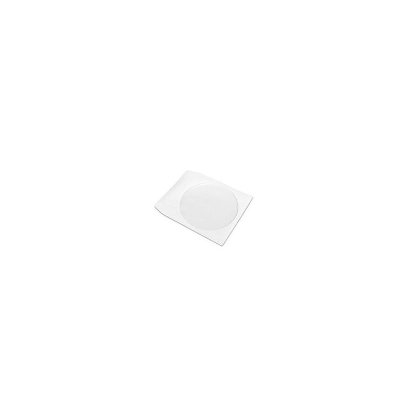 Papierová obálka na 1CD 100ks/bal.s priehľ. okienkom, nelep. záložkou CD Envelope