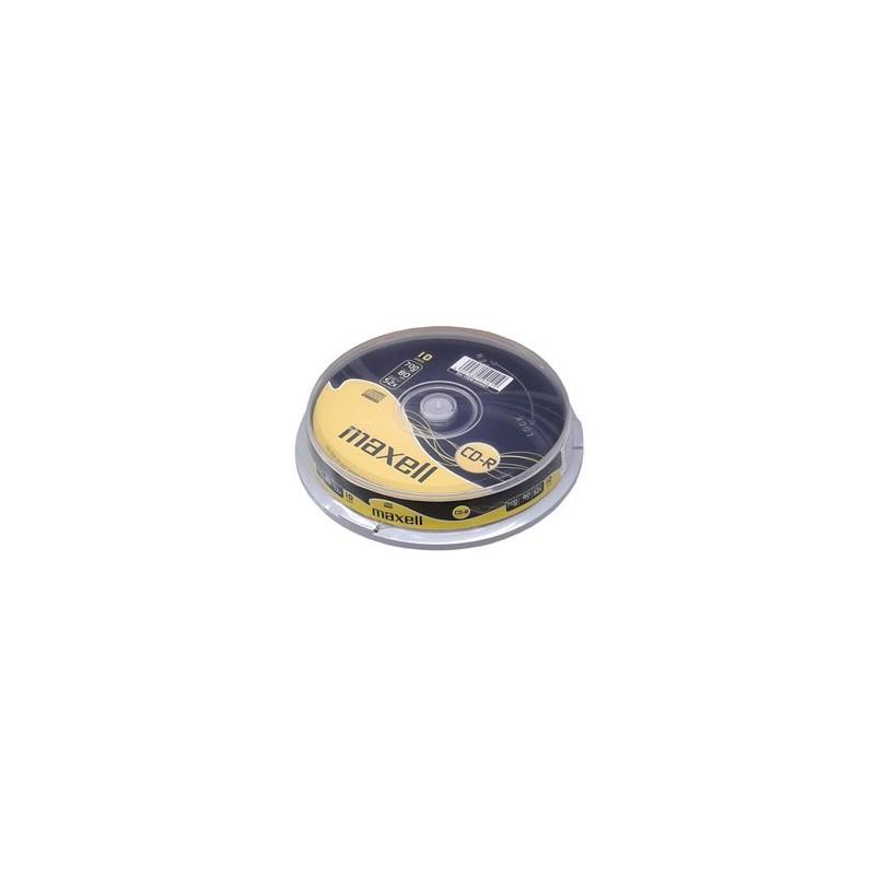 CD-R MAXELL 700MB 52X 10ks/cake 624027