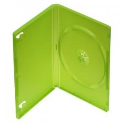 Obal na 1DVD 14mm, zelený, push up systém BOXYYJBDVDFG