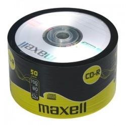 CD-R MAXELL 700MB 52X 50ks/spindel 624036.02.CN