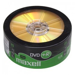 DVD+R MAXELL 4,7GB 16X 25ks/spindel 275735.30.TW