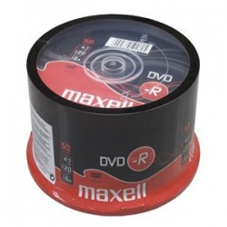 DVD-R MAXELL 4,7GB 16X 50ks/cake 275610.40.IN