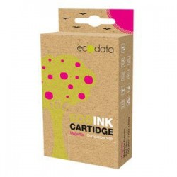 kazeta ECODATA pre BROTHER DCP-185/385 Magenta (LC-980/985/1100M) 20ml ECO-LC-980/985/1100M