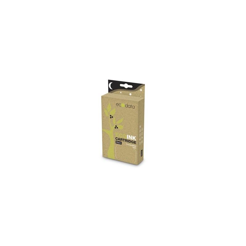 kazeta ECODATA pre CANON iP 4600, MP 540 black (CLi-521BK) - s čipom 13ml ECO-CLi-521BK