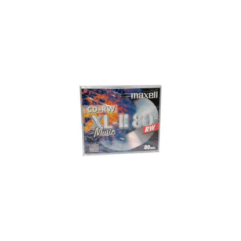 CD-RW MAXELL AUDIO 80 min (1ks v hrubom obale) 624865.35.TW