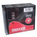 DVD-R MAXELL 4,7GB 16X Slim (10ks) 275592.40.TW