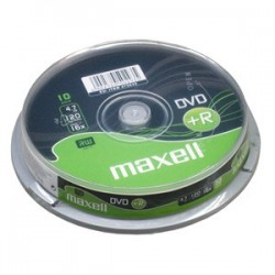 DVD+R MAXELL 4,7GB 16X 10ks/cake 275632