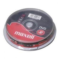 DVD-R MAXELL 4,7GB 16X 10ks/cake 275593