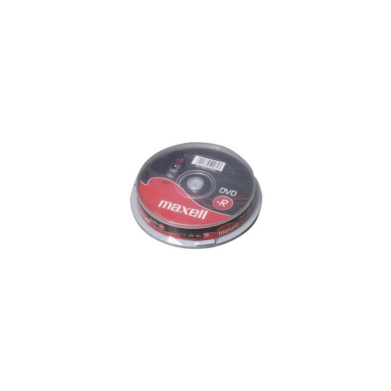 DVD-R MAXELL 4,7GB 16X 10ks/cake 275593