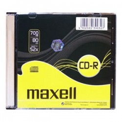 CD-R MAXELL 700MB 52X Slim box 1ks 624832.01.IN/624005