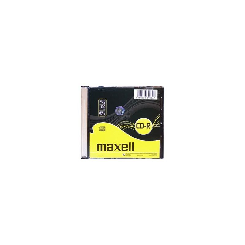 CD-R MAXELL 700MB 52X Slim box 1ks 624832.01.IN/624005
