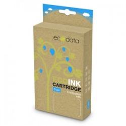 kazeta ECODATA pre CANON iP 4200, MP 510 cyan (CLi-8C) - s čipom 17ml ECO-CLi-8C