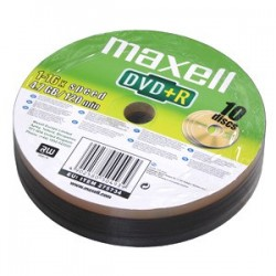 DVD+R MAXELL 4,7GB 16X 10ks/spindel 275734.30.TW