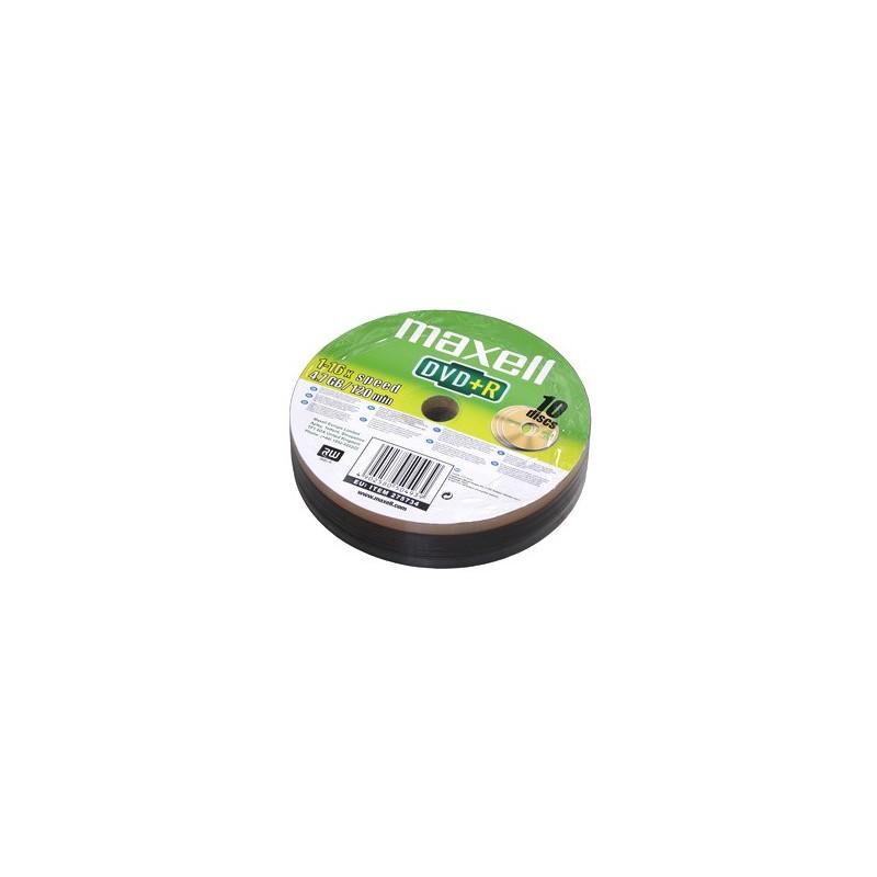 DVD+R MAXELL 4,7GB 16X 10ks/spindel 275734.30.TW
