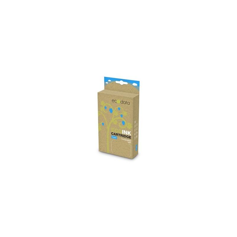 kazeta ECODATA pre EPSON Stylus D78/ DX4000, SX105/405 Cyan (T0712,T0892) 19ml ECO-T0712,T0892
