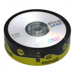 CD-R MAXELL 700MB 52X 25ks/spindel 624035.02.CN