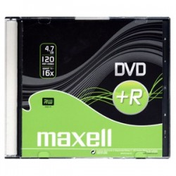 DVD+R MAXELL 4,7GB 16X Slim box 1ks 275636