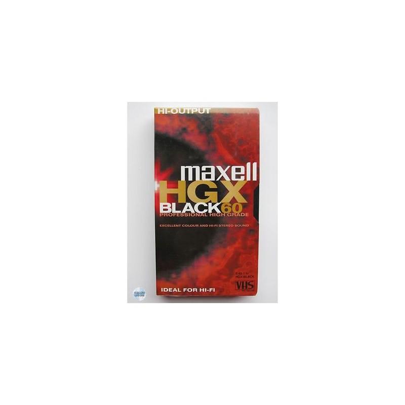 VHS kazeta MAXELL HGXB 60 min 238526.01