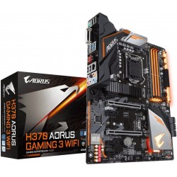GIGABYTE MB Sc LGA1151 H370 AORUS GAMING 3 WIFI, Intel H370,...