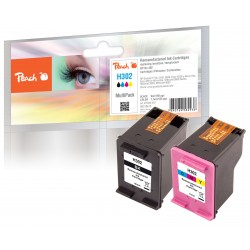 PEACH kompatibilní cartridge HP F6U65A, No 302, color, 7.5ml 319604