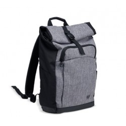 "PREDATOR ROLLTOP JR. BACKPACK FOR 15.6"" PREDATOR NBS GRAY DUAL-TONE NP.BAG1A.292"