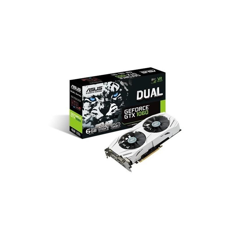 Grafická karta ASUS DUAL-GTX1060-6G 90YV09X4-M0NA00