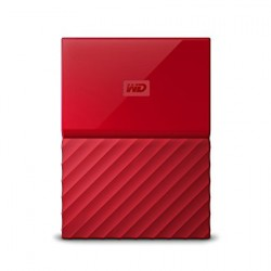 "WD My Passport 1TB Ext, 2,5"" USB3.0, RED WDBYNN0010BRD-WESN"