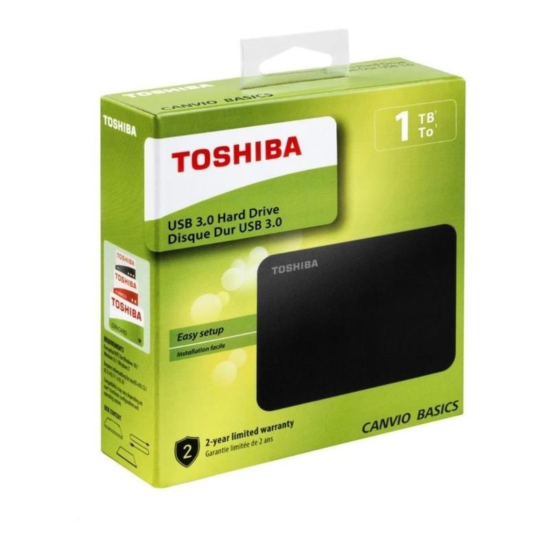 "TOSHIBA Canvio Basics (2018) 1TB USB3.0 2,5"" HDTB410EK3AA"