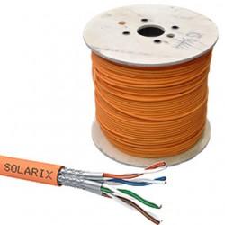 SOLARIX kábel CAT7 SSTP LSOH Eca 500m/cievka SXKD-7-SSTP-LSOH