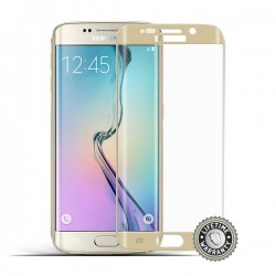 ScreenShield G925 Galaxy S6 Tempered Glass protection (Gold) - Film...