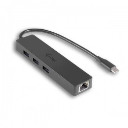 i-tec USB 3.1 Type C SLIM HUB 3 Port + Gigabit Ethernet C31GL3SLIM