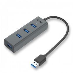 i-tec USB 3.0 Metal 4-port HUB - passive U3HUBMETAL403