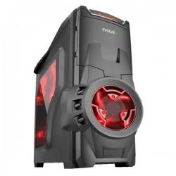 Evolveo SA05 PC skrinka, ATX, 2xUSB 2.0, 1xUSB 3.0 + audio výstup, čierny CAE SA05