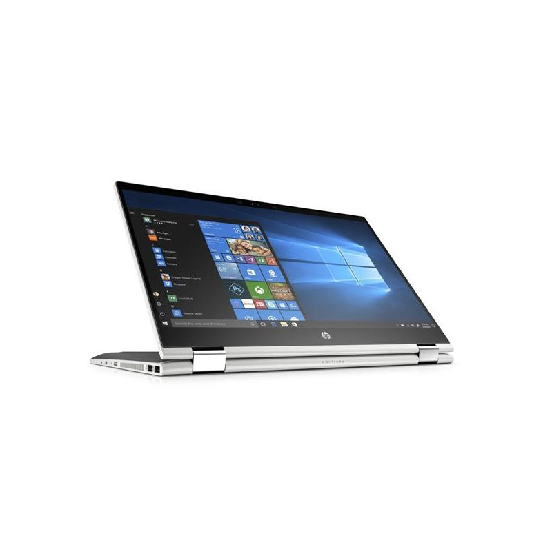 HP Pavilion x360 15-cr0001nc, i5-8250U, 15.6 FHD/IPS Touch , AMD Radeon 530/2G, 8GB, 256GB+1TBe, W10, Natural silver 4DJ25EA#BCM