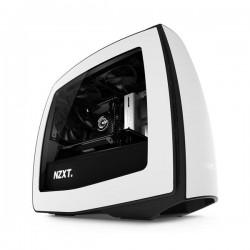 NZXT Manta, gaming case, mITX, USB3.0, bielo-čierna, priehľ. bočnica CA-MANTW-W1