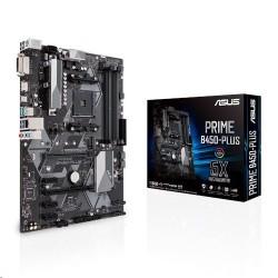 ASUS PRIME B450-PLUS soc.AM4 B450 DDR4 ATX PCIe M.2 USB3 D-Sub DVI...