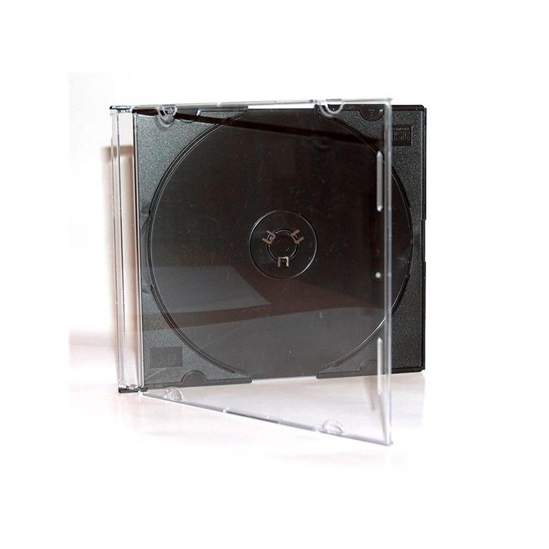 Obal na 1 médium, 5,2mm, slim, čierny box. 10 ks./bal 27036P10