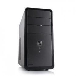 Modecom PC skříň MINI LOKI, USB 3.0 + USB 2.0, HD audio, černá/matná, bez zdroje AM-LOKI-10-000000-0002