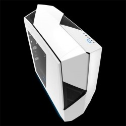 NZXT Noctis 450, gaming case, ATX, 2xUSB3.0, biela CA-N450W-W1