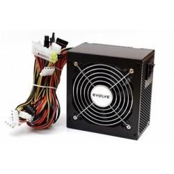 EVOLVEO Zdroj 450W Pulse, ATX 2.2, tichý, 12cm fan, pas. PFC, 2xSATA, PCIe 6, černý, bulk balení EP450PP12B