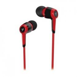 Genius headset - HS-M225 sluchátka s mikrofonem/ červený/ 4pin 3,5mm konektor 31710193102