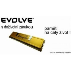 EVOLVEO DDR III SODIMM 2GB 1333MHz EVOLVEO Zeppelin GOLD (chladič, box), CL9 (doživotní záruka) 2G/1333 XP SO EG