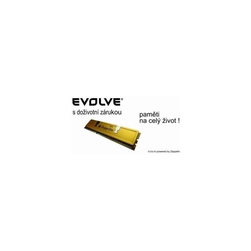 EVOLVEO DDR III SODIMM 2GB 1333MHz EVOLVEO Zeppelin GOLD (chladič, box), CL9 (doživotní záruka) 2G/1333 XP SO EG
