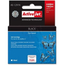 ActiveJet ink cartr. Eps T1291 Black SX525/BX320/BX625 100% NEW AE-1291N EXPACJAEP0203