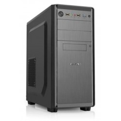 EVOLVEO R05, case ATX, 2x USB2.0 / 1x USB3.0 1x HD Audio, 2x 120mm, černý CAER05000