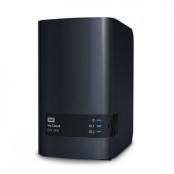 "WD My CLOUD EX 2 ULTRA, 12 TB (2x6TB) 3,5"", RJ45, NAS WDBVBZ0120JCH-EESN"