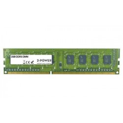 2-Power 2GB MultiSpeed 1066/1333/1600 MHz DDR3 Non-ECC DIMM 1Rx8...