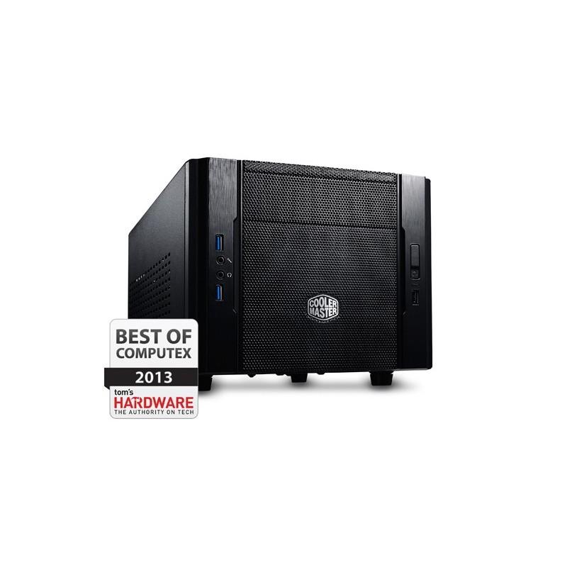 CoolerMaster case mini ITX Elite 130, čierna, USB3.0, bez zdroja RC-130-KKN1